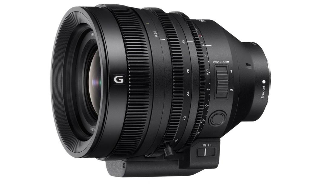 Nuevo objetivo con óptica de cine de Sony