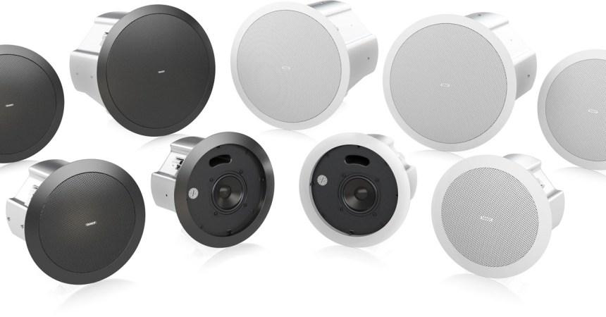 Tannoy lanza la nueva serie CVS 1.0 de altavoces de techo
