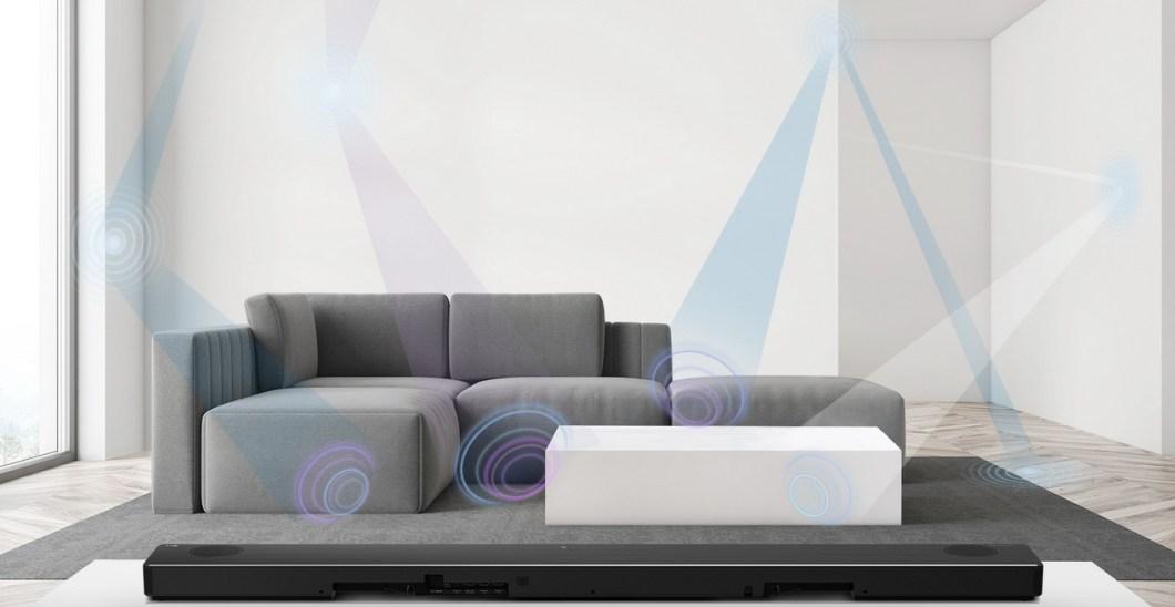 CES 2020: Nueva gama de barras de sonido inteligentes de LG