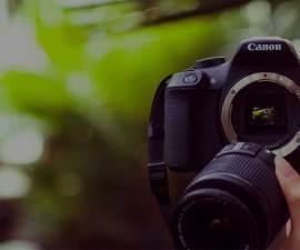 smartphone o cámara de fotos