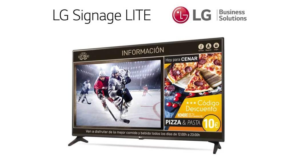 LG Signage LITE