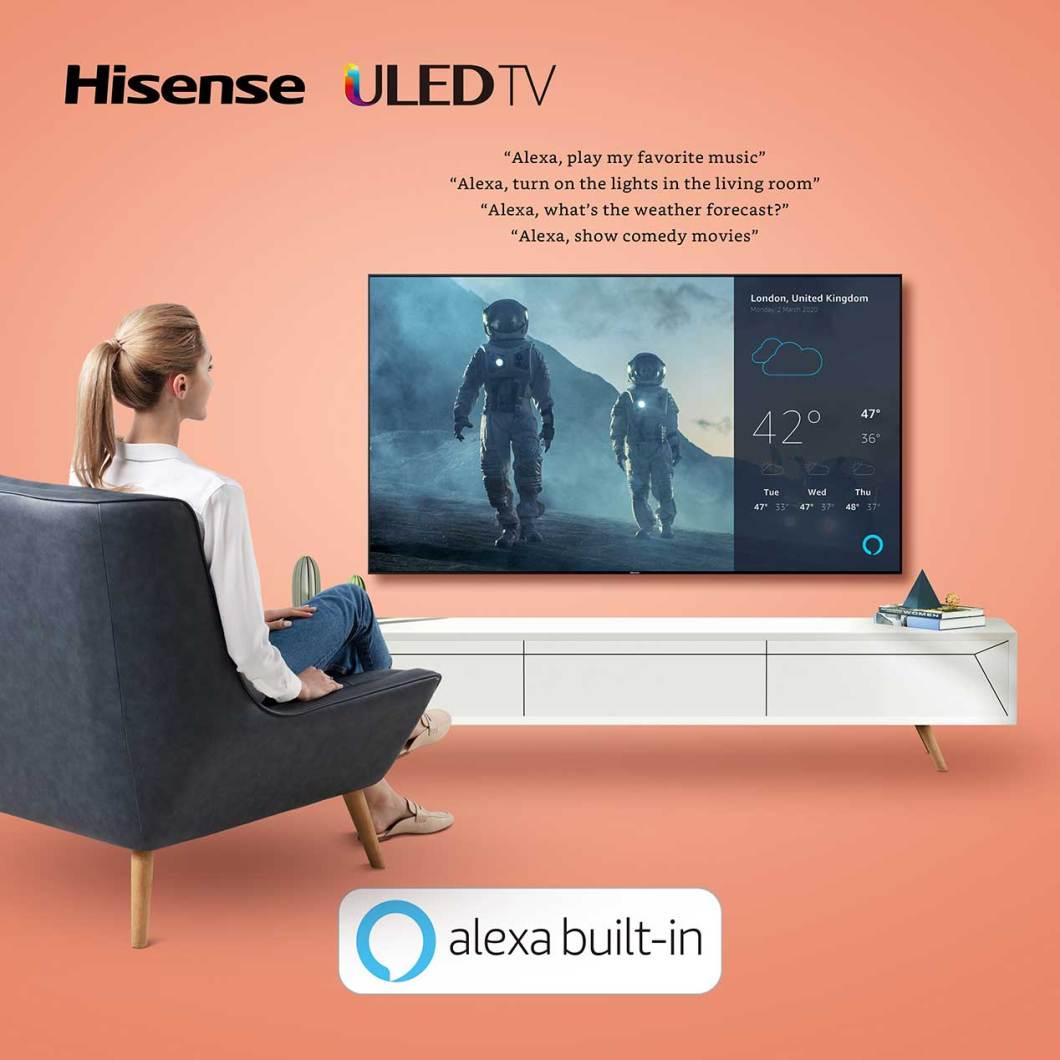 Hisense televisores 2020