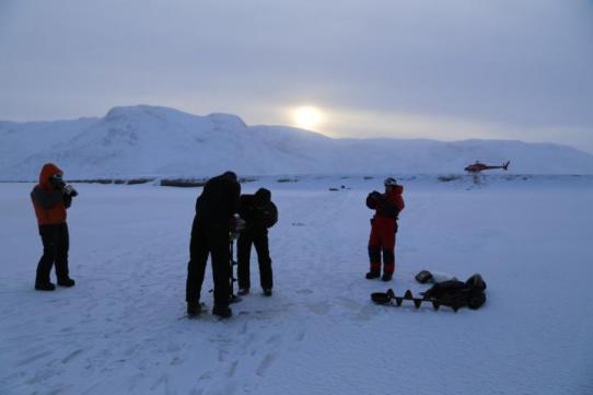 Água derretida do manto de gelo da Groenlândia também flui no inverno - Planeta
