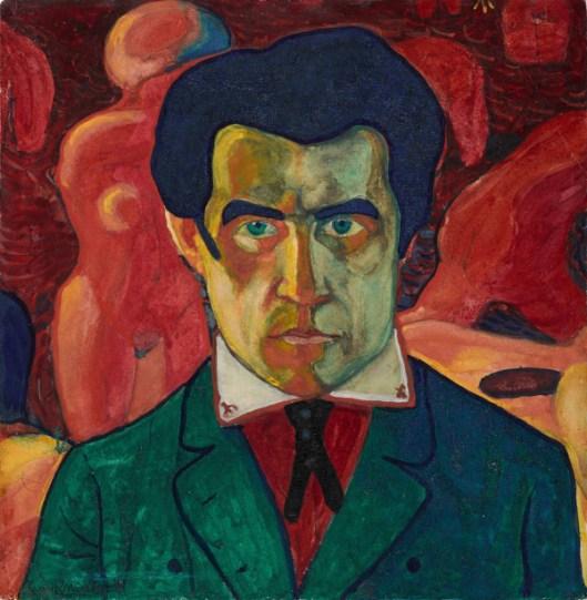 Autorretrato (Автопортрет), 1910