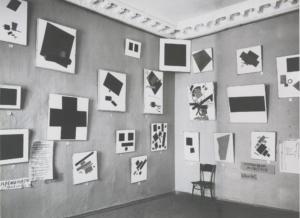 """Fotografía de """"0.10. La última exposición futurista"""" (1915)"""