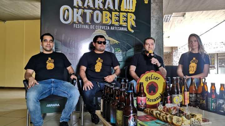 LLega el Karai Oktobeer con mas de 2500 litros de cerveza artesanal