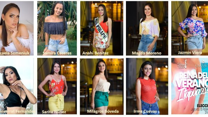 Todo listo para elegir a la Reina del Verano Itapúa 2020