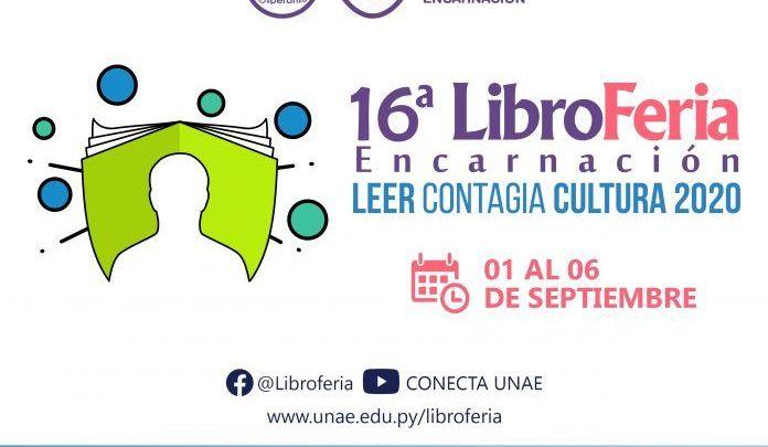 16° Libroferia Encarnación arranca este martes en plataformas virtuales