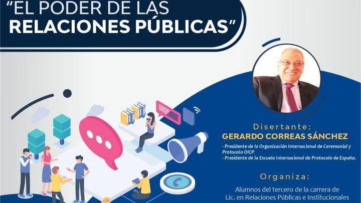 Destacado referente internacional abordará sobre el poder de las Relaciones Públicas