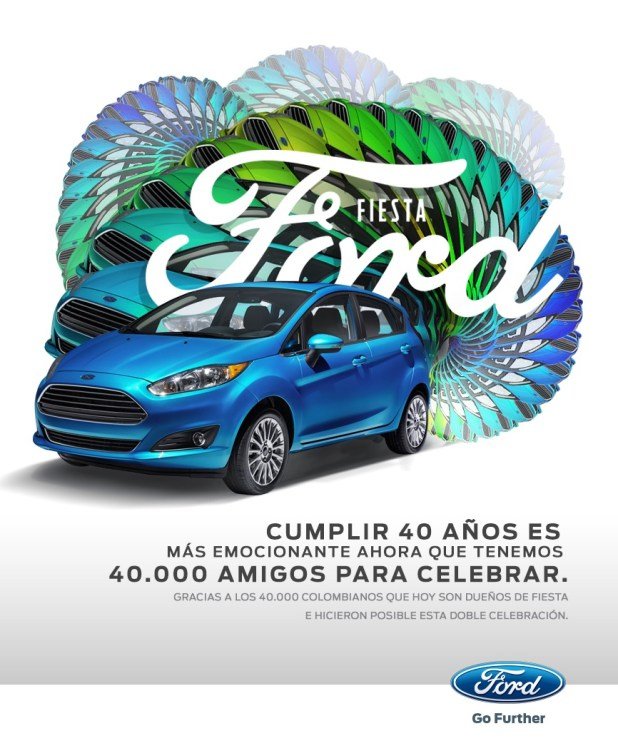 FORD MAILING FIESTA #40MIL