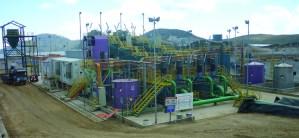 Planta de procesos ADR del Proyecto La Zanja