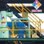 Transporte de productos químicos peligrosos