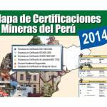 Seguridad Minera publica Mapa de Certificaciones 2014