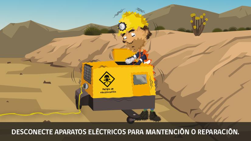Decimoquinta regla de oro de seguridad para operaciones mineras en Chile