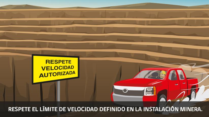Decimoséptima regla de oro de seguridad para operaciones mineras en Chile