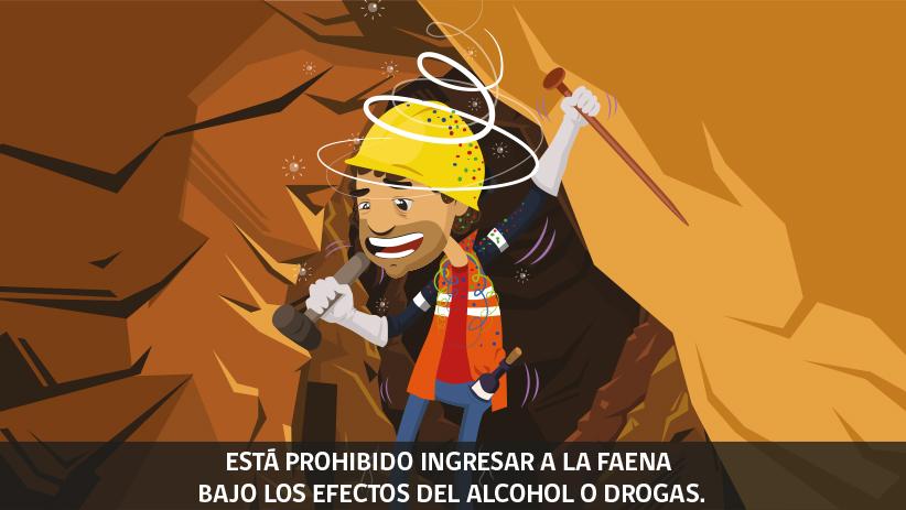Decimoctava regla de oro de seguridad para operaciones mineras en Chile