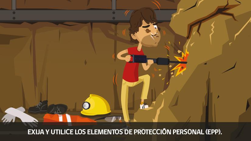 Reglas de oro de la seguridad minera en Chile - quinta regla