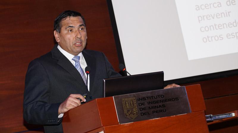 Juan Dumler expone Alerta de ingreso a espacios confinados emitida por MSHA