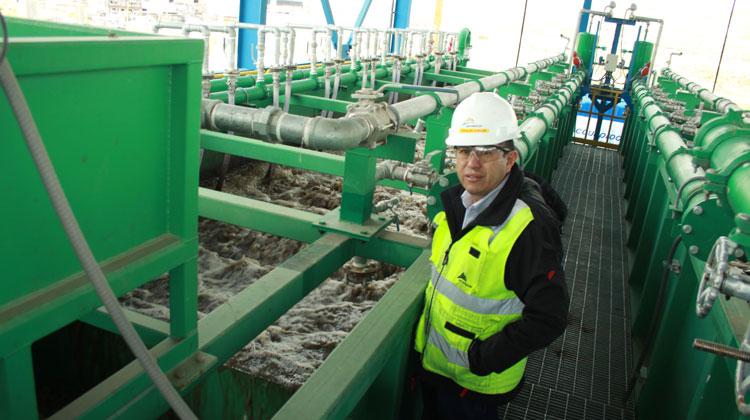Antapaccay estrena planta de tratamiento de aguas residuales