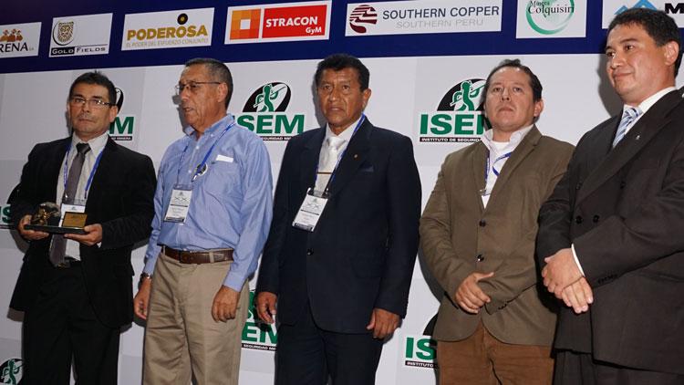 Southern Peru Copper Corporation–Ilo obtuvo el trofeo en la categoría refinerías y fundiciones.