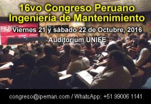 Congreso Peruano de Mantenimiento