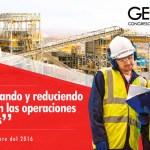 """GEOMET 2016: """"Optimizando y reduciendo costos en las operaciones mineras"""""""