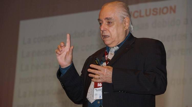 Lourival Tavarez en Congreso Peruano de Ingeniería de Mantenimiento