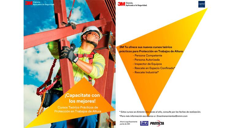 3M: nuevos cursos sobre trabajo en altura