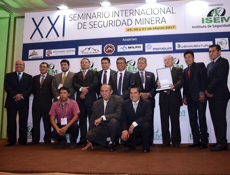 Pan American Silver Huarón logró el quinto lugar en el Concurso Nacional de Seguridad del ISEM.