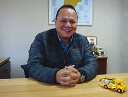 Ing. Luciano López, gerente para Latinoamérica de Construcción Subterránea de BASF.