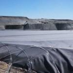 Peligros geológicos en la instalación de lixiviación en pilas