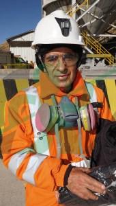 Rodolfo Bringas de planta concentradora Chungar.