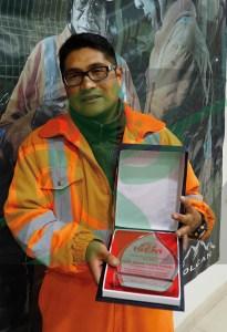 Freddy Soto Mori, ingeniero de seguridad de la mina San Cristóbal