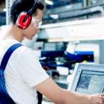 Tres tipos de protectores auditivos y su nivel de mitigación del ruido