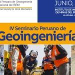 Cursos cortos en IV Seminario Peruano de Geoingeniería
