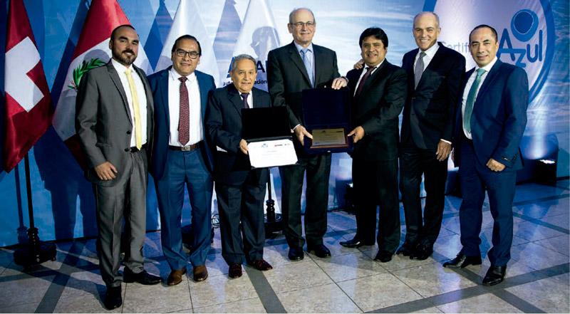 Compañía Minera Coimolache obtuvo el Certificado Azul que otorga anualmente la Autoridad Nacional del Agua-ANA a las empresas hídricamente responsables.