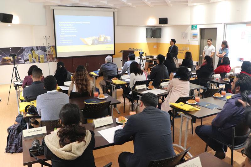 EPIROC presentará innovaciones tecnológicas en PERUMIN 34 Convención Minera