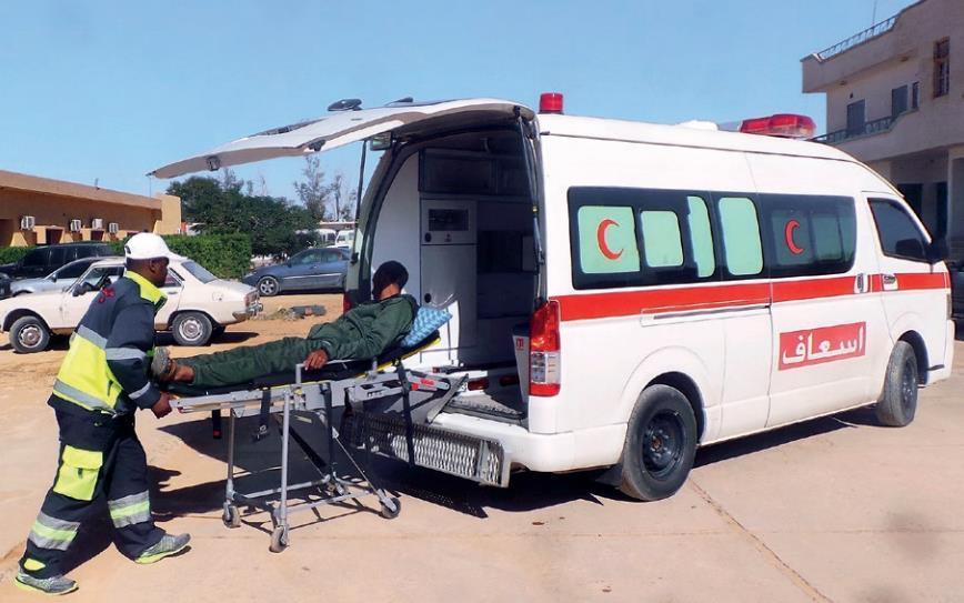 Características de las ambulancias