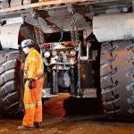 Seguridad en neumáticos de vehículos mineros