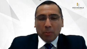 Juan Dumler Cuya, gerente corporativo de Seguridad de Hochschild Mining