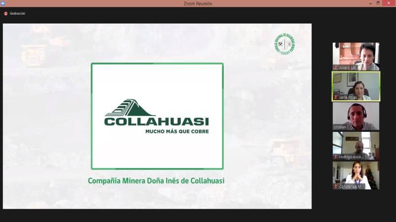 Collahuasi reconocida como la compañía minera con mejor gestión en prevención de Tarapacá