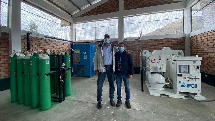 Planta de oxígeno donada por Antamina es inaugurada en la provincia de Huari 1