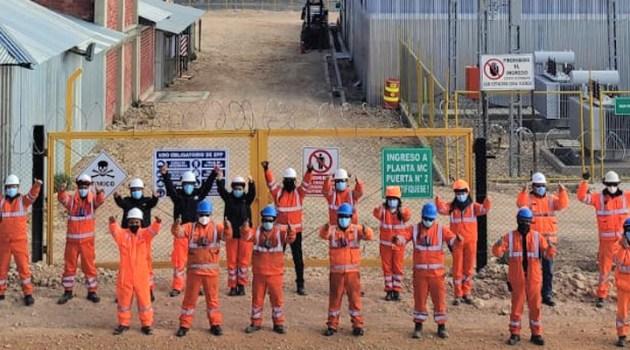Anabí-Unidad Minera Utunsa motiva cumplimiento de estándares