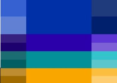 Combinar azul klein