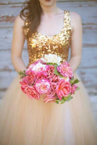 Vestido de novia boda en Navidad