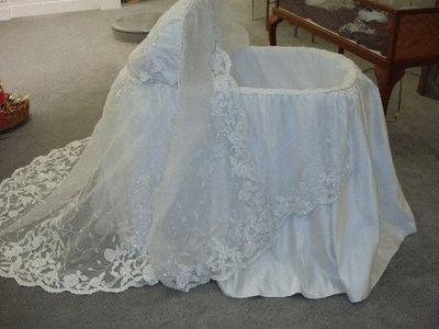 cuna vestido de novia