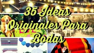 Photo of 35 ideas originales para bodas ¡Que tu día sea inolvidable!