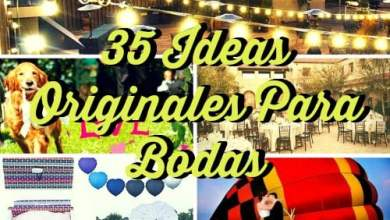 Photo of 35 ideas originales para bodas ¡Que tu día sea inolvidable!