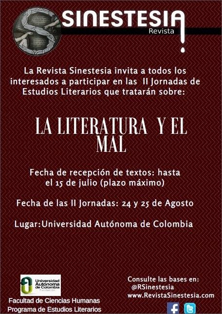 II Jornadas de Estudios Literarios
