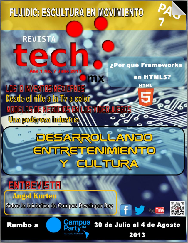 Revista Tech MX 2013 7